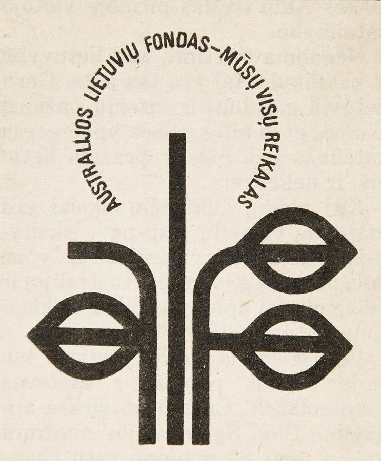 ALF logo: Australian Lithuanian Fund